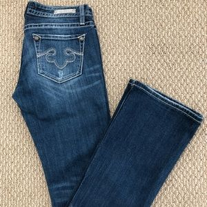 Express Rerock Denim Jeans